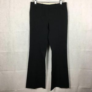 TAHARI Elie Black Flare Dress Pants Slacks Sz 6